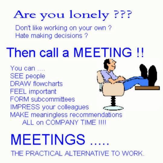 Call a meeting